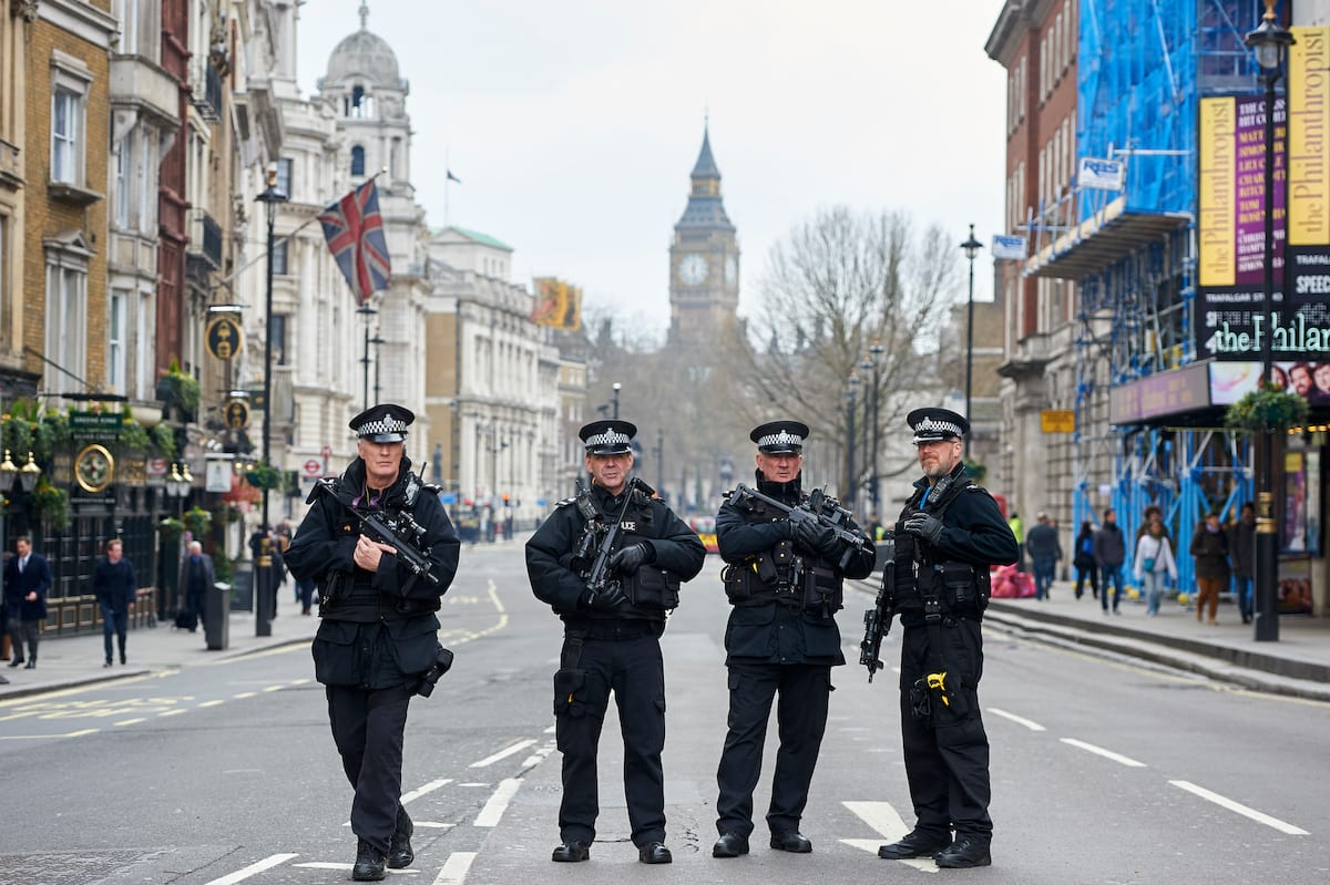 This Is How Often Police In The UK Use Guns