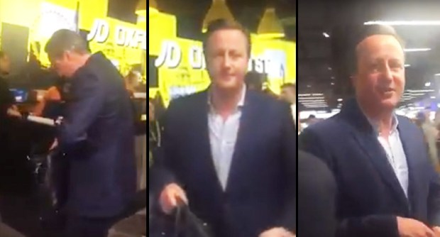 David Cameron Cant Even Buy Socks Without Pissing People Off Cameron thumb