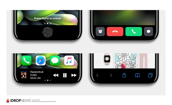 Apple Making Huge Changes To iPhone 8 iPhone 8 Function Area iDrop News Exclusive 7 iDrop news toolbar