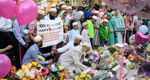 Peace Walk For All Following Manchester Attack Organised By Muslim Community marchfb