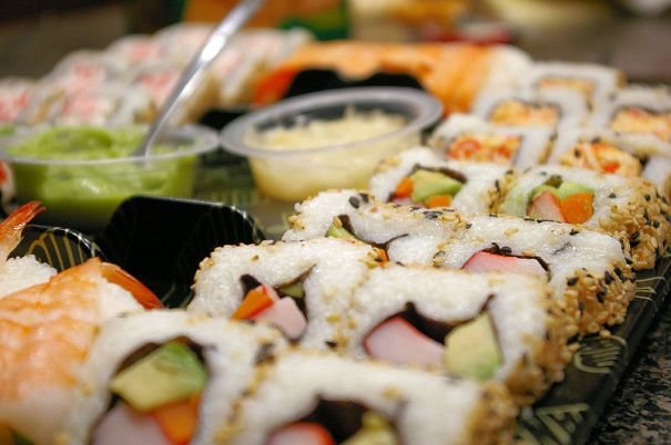 Disgusting Discovery Inside People Who Eat Sushis Stomachs sushi 1