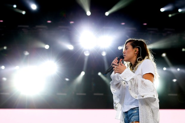Ariana Grande Raised £2 Million In Three Hours During One Love Manchester Concert GettyImages 692357898