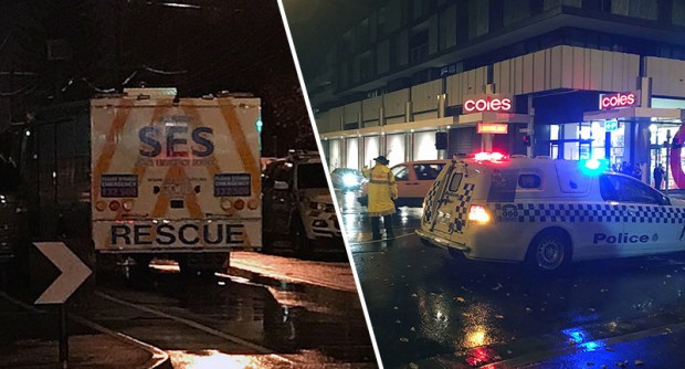 Two Dead And Three Police Injured As Chilling Call To TV Station Investigated hostage2melbourne