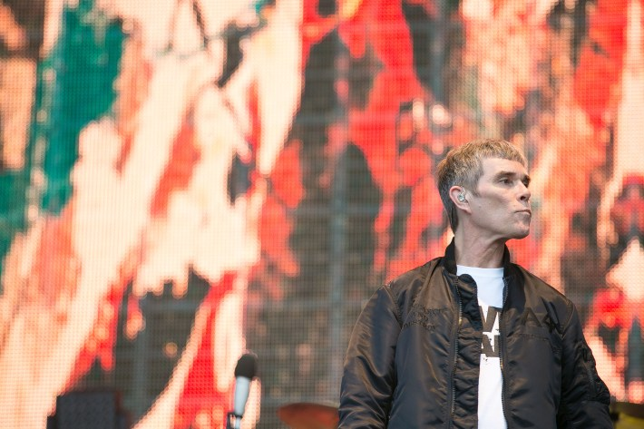 The Stone Roses Resurrection Continues As They Thrill Wembley ianbrown1