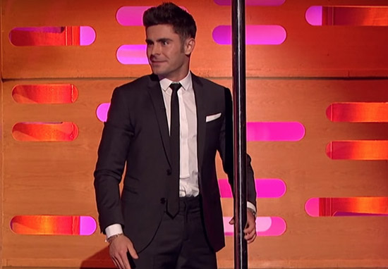 Graham Norton Got Zac Efron To Pole Dance And It Was Incredible zac pole web
