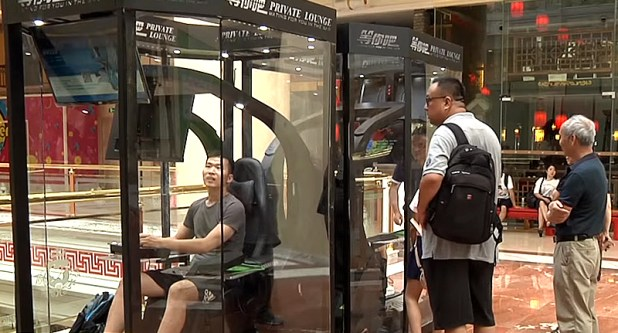 Shopping Centre Introduces Gaming Booth For Bored Husbands husband pods 1