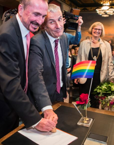 Germany Celebrate Their Very First Gay Marriage Gay