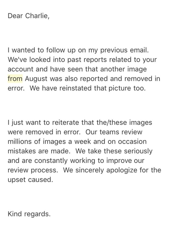 Instagram Remove Picture Of Boy Due To His Disfigurement image 6483441