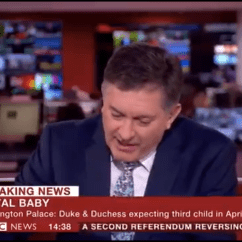 Baby Height Chair Inside Hammock Bbc Newsreader Can't Believe Royal Due Date Is Breaking News