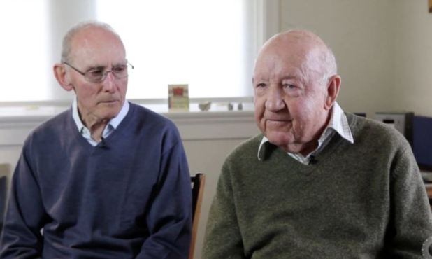 John, 89, And Arthur, 85, To Marry After 50 Years Together challis cheeseman portrait