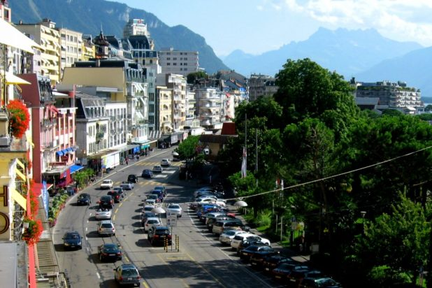 The Safest Countries To Be In If (When) World War Three Breaks Out street in montreux switzerland 1404x936