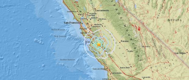 Ten Mini Tremors Around San Andreas Fault Spark Earthquake Fears usgs