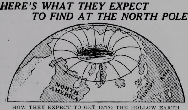 New 'Hollow Earth' Conspiracy Makes Flat Earthers Look