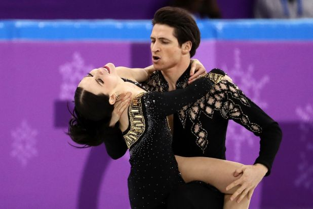 Olympic Figure Skaters Told Their Routine Is Too Sexy skaters2
