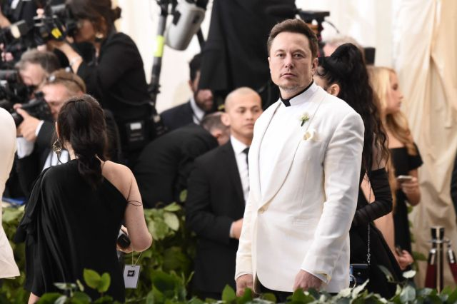 elon musk met gala 2018 heavenly bodies
