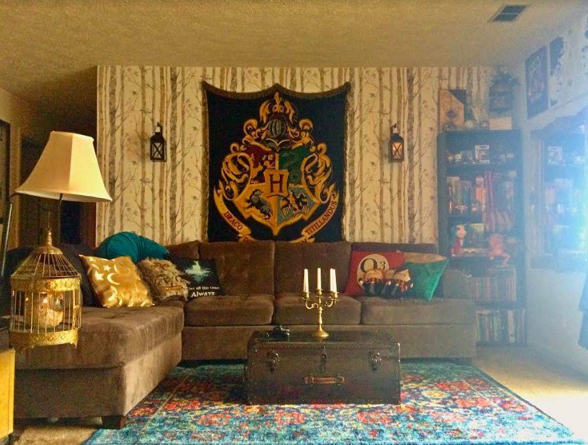 Harry Potter Fans Living Room Looks Like Something