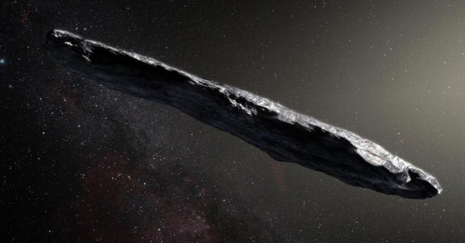 Mysterious object could be sent by aliens