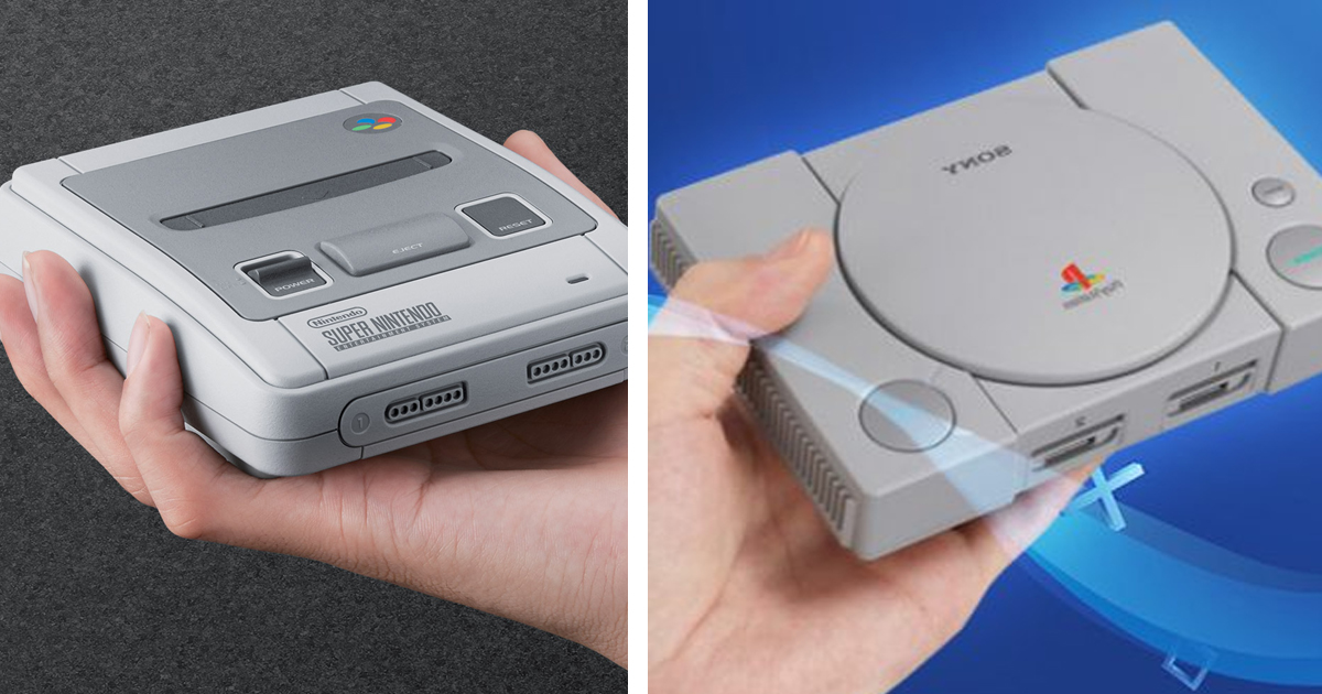 PlayStation Classic Games Run Better On The SNES Mini. Apparently - UNILAD