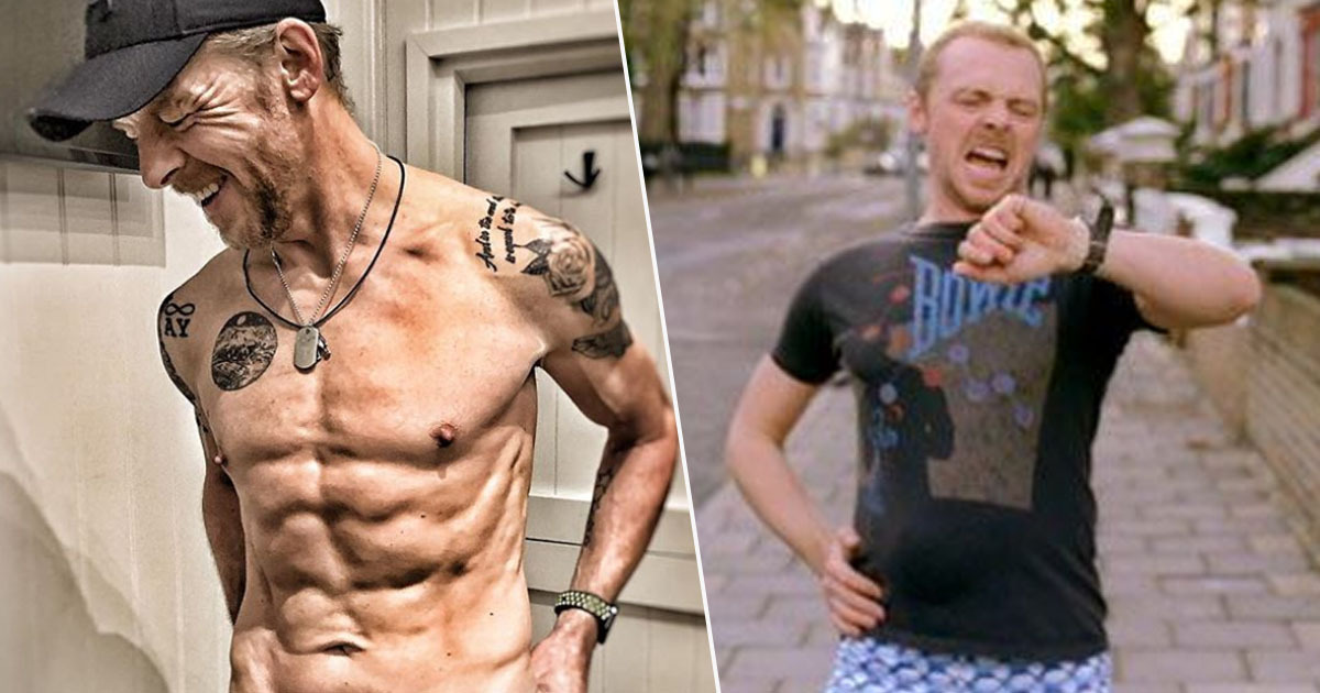 simon pegg is absolutely