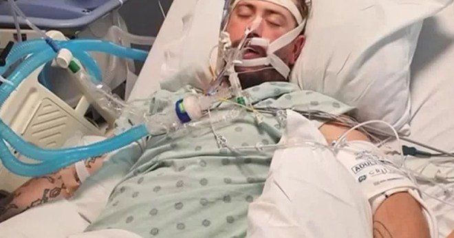 Man in coma because of vaping