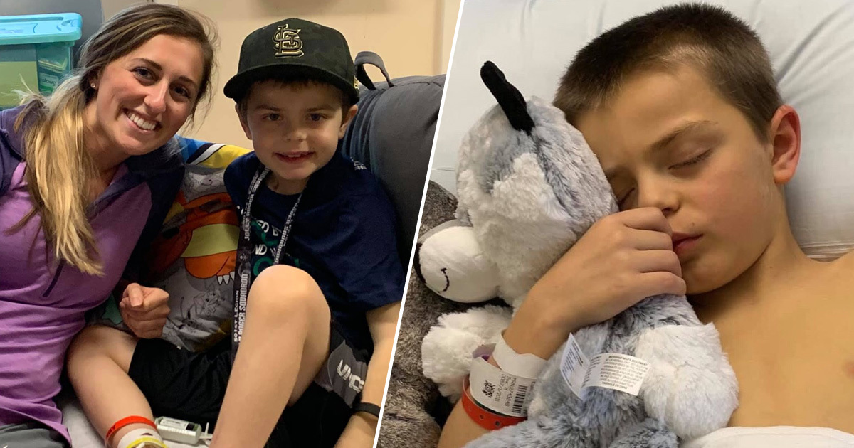 Nurse Donates Part Of Her Liver To Save Eight-Year-Old Boy's Life