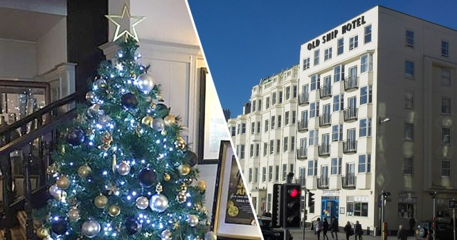 Festive Hotel Staff Put Christmas Tree Up 107 Days Early