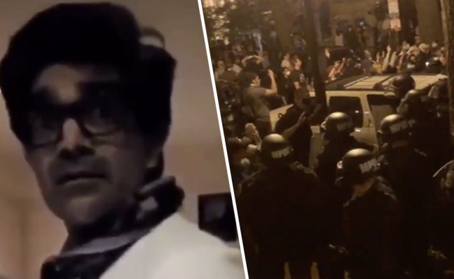 Man Sheltered Dozens Of Protesters In His Washington D C