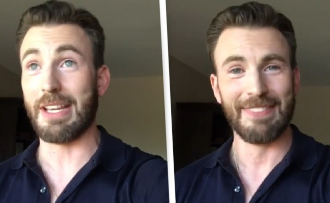 Chris Evans Thanks Fans For Support Over Embarrassing D