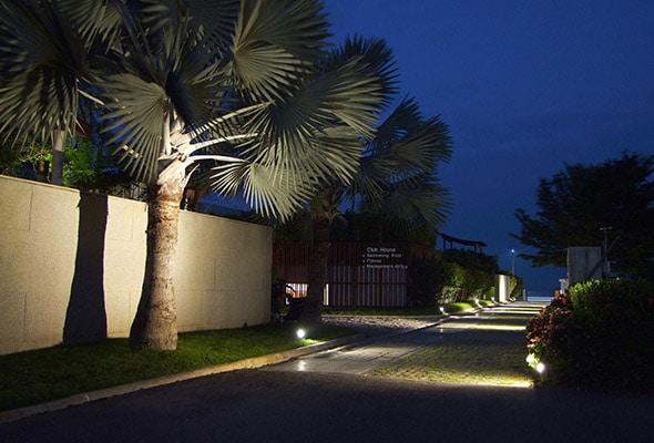 spotlight outdoor unilamp no the