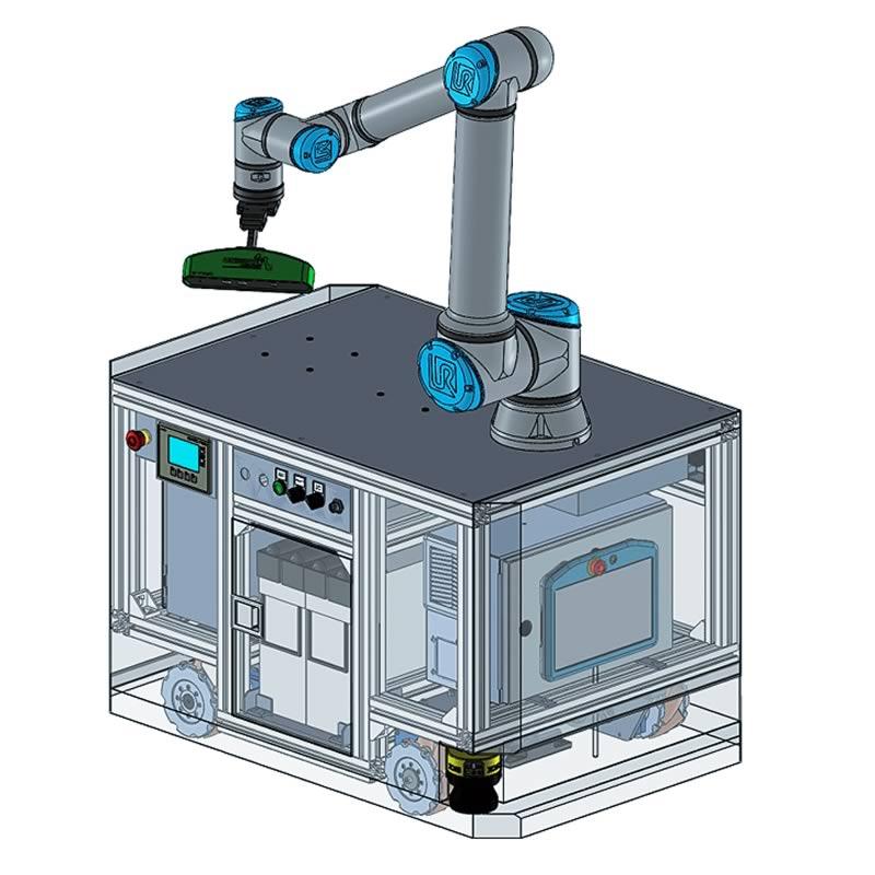 Robot con sitesma de vision