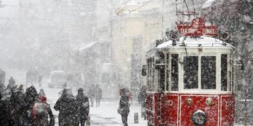istanbula kar alarmı