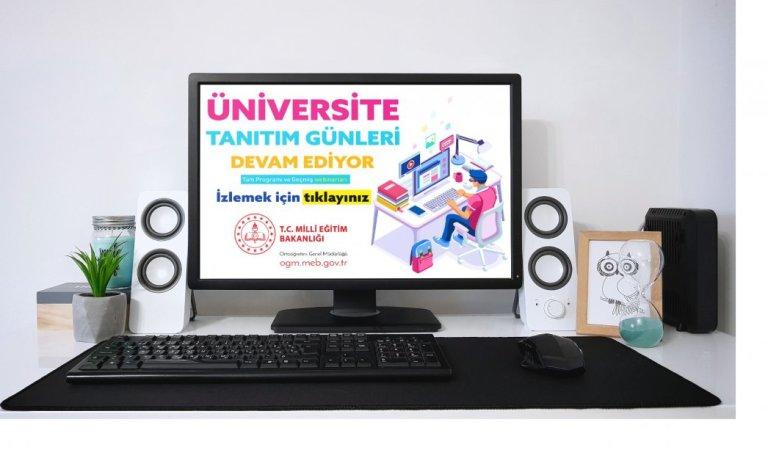 Üniversite adayları tanıtım günleri için rektörler ile online buluşacak