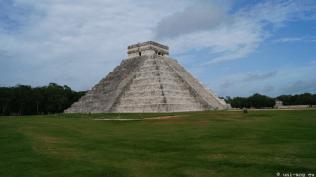 die Ausgrabungsstätte von Uxmal