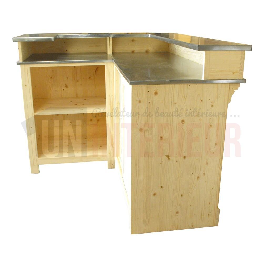 Comptoir De Bar Dangle Avec Vier 190 X 140 Cm