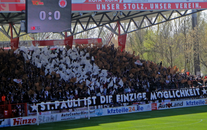 St. Pauli fans at Union in 2010 (2:1)