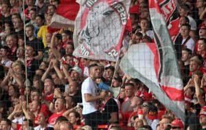 Union Capo during the match vs. FC St. Pauli