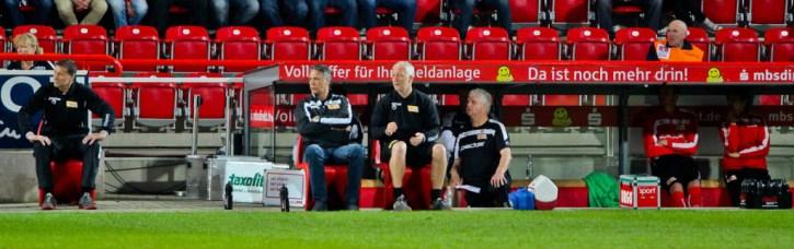 Neuhaus' third to last game as Union coach