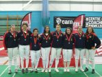 Women's 2nd Silver medalists