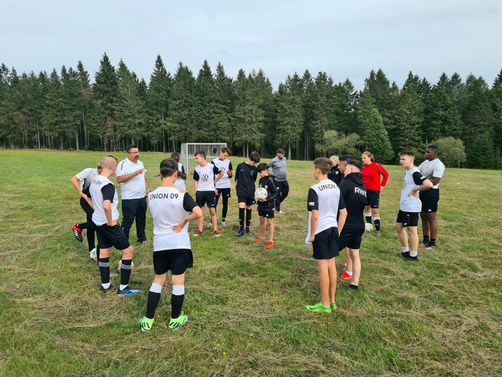 C1 – war im Trainingslager!
