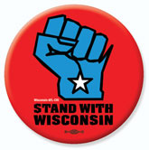 Stand With Wisconsin bumper sticker