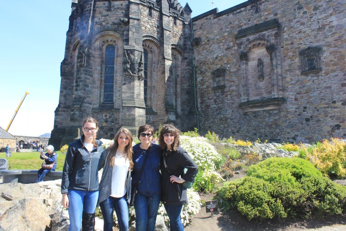 "All the ""Lady Blairs"" in Edinburgh Castle"
