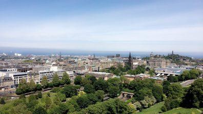 Overlooking Old Town, Edinburgh