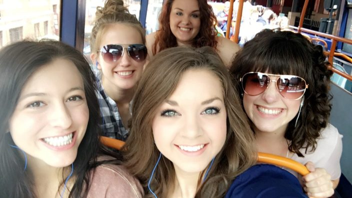 Girls Day Part 2: Bus Tour