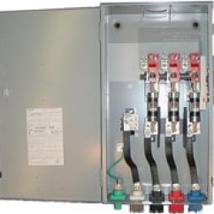 Fuse Switch Wiring Diagram Split Charge Fused Disconnect Union Connector