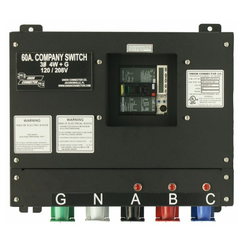 small resolution of basic company switch with series 16 cam lok receptacle 60 amp