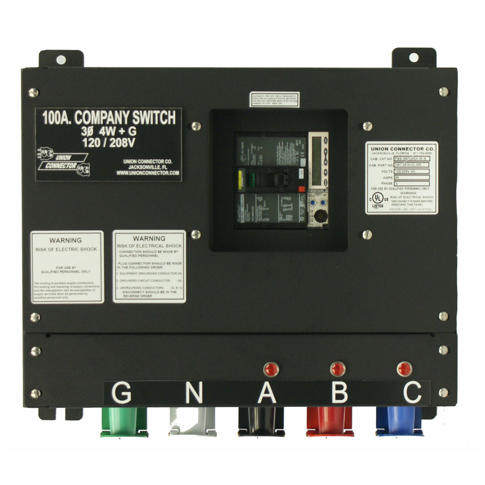 medium resolution of basic company switch with series 16 cam lok receptacle 100 amp