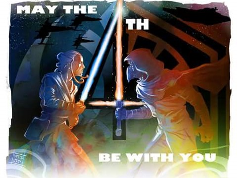 Union Cosmos Star wars may the 4th