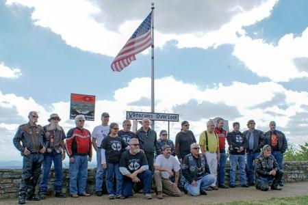 Veterans on Ride Like an Animal 2016