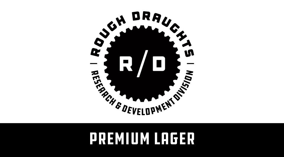 Rough Draughts: Premium Logo digital graphic