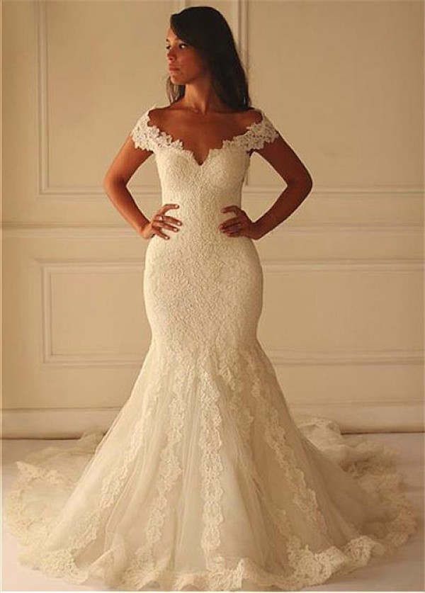 Wedding Dress Mermaid Cut  Wedding Ideas